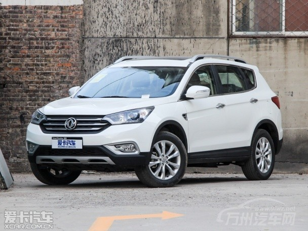 东风风神小型SUV将定名为AX3 官图首曝高清图片
